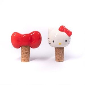 Hello kitty wine stopper